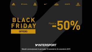Maraton de reduceri Black Friday la Intersport din Iulius Mall Iași!