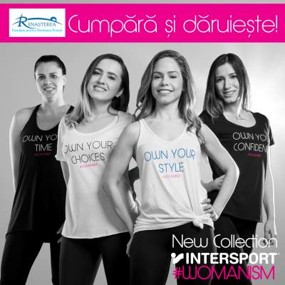 New INTERSPORT #womanism Collection, de acum, şi în Iulius Mall Iaşi